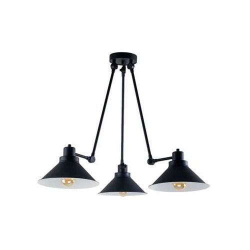Nowodvorski Techno 9142 Plafon lampa sufitowa na wysięgniku 3x60W E27 Czarna (5903139914291)