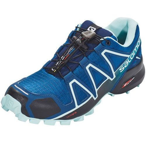 Salomon speedcross 4 buty do biegania kobiety niebieski uk 7 | eu 40 2/3 2019 buty trailowe (0889645575711)