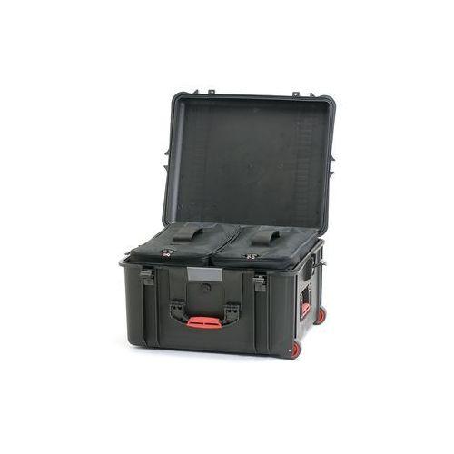 kufer transportowy 2700bw z kółkami, uchwytem i torbą marki Hprc