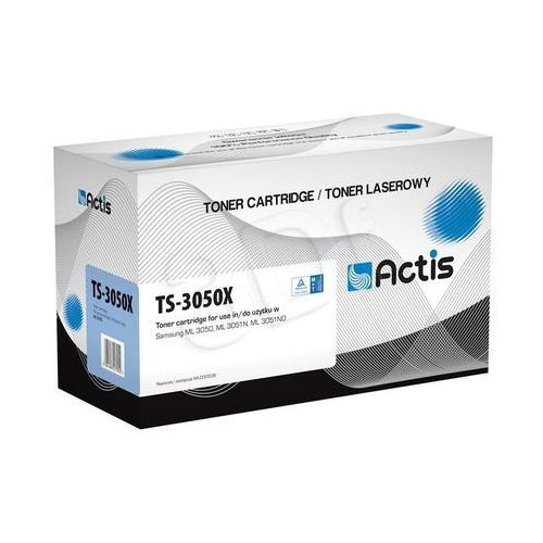 Toner ts-3050x czarny do drukarek samsung (zamiennik samsung ml-d3050b) [8k] marki Actis