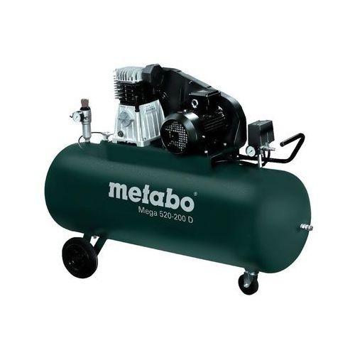 Kompresor sprężarka tłokowa Metabo MEGA 520-200 D, 601541000