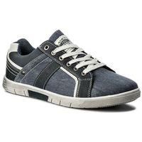 Sneakersy - mp40-6901j granatowy marki Lanetti