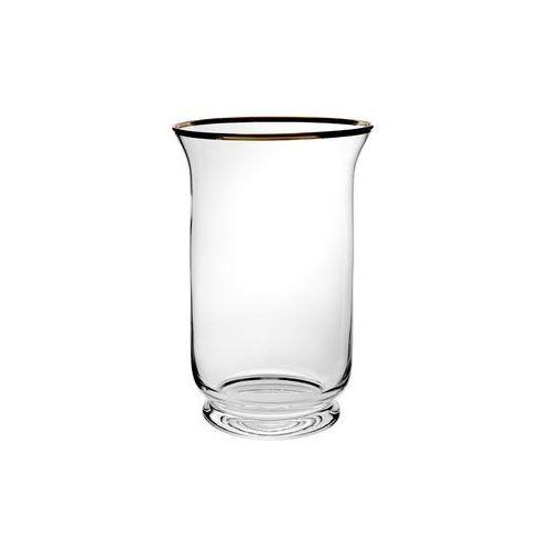 Black red white Świecznik szklany (5901440563665)
