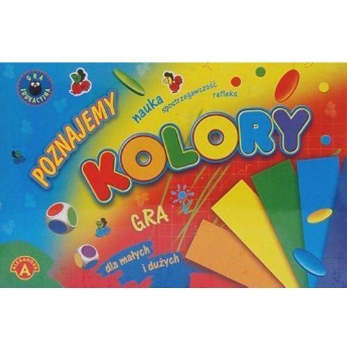 Poznajemy kolory. gra dla małych i dużych marki Alexander