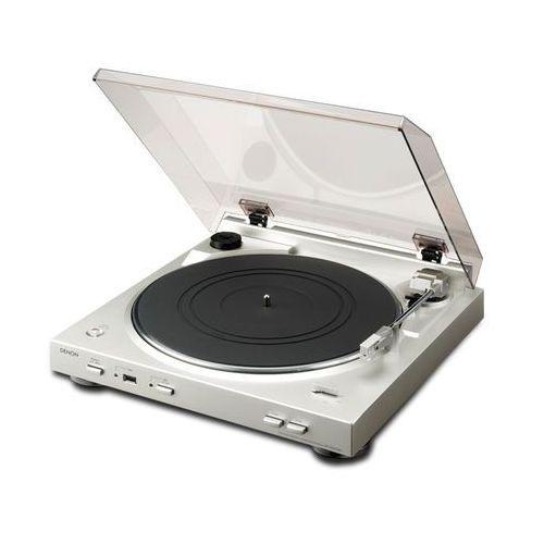 Denon Gramofon dp-200usb srebrny (4582116360507)