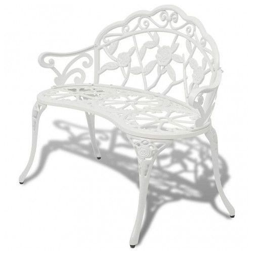 Producent: elior Metalowa ławka ogrodowa loryn - biała