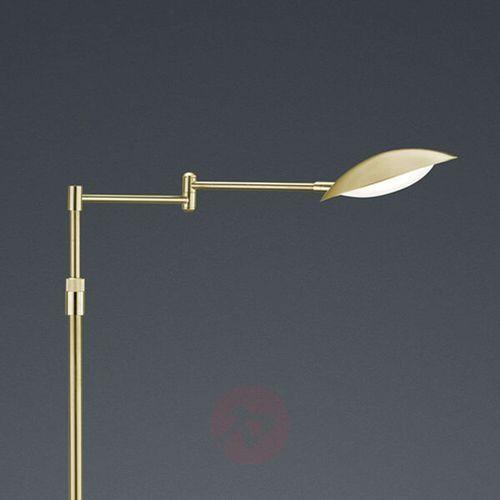 Trio-Leuchten Calcio Lampa Stojąca LED Mosiądz, 1-punktowy - Nowoczesny - Obszar wewnętrzny - CALCIO - Czas dostawy: od 4-8 dni roboczych
