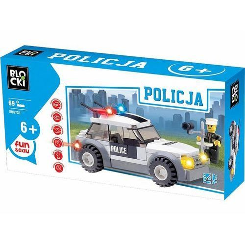 Klocki Blocki Policja 69 elementów