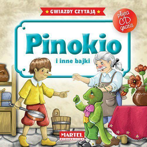 PINOKIO I INNE BAJKI + CD, oprawa twarda