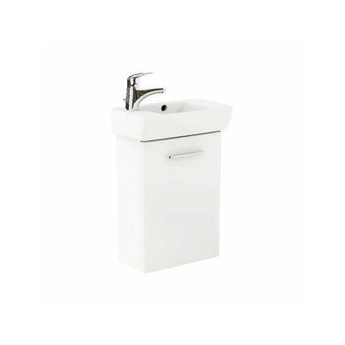 KOŁO NOVA PRO Zestaw łazienkowy 45cm, umywalka z otworem po lewej stronie, biały połysk M39002000, M39002000
