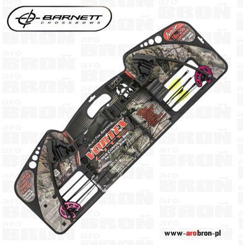 Łuk bloczkowy Barnett Vortex Lite w komplecie 3 strzały, celownik i uchwyt - produkt z kategorii- Łuki i akcesoria