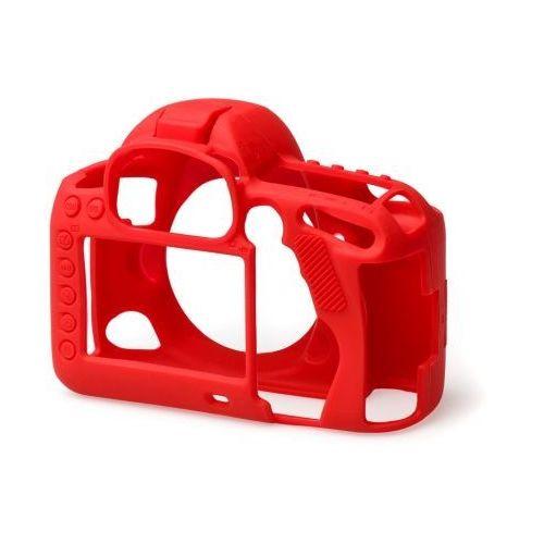 Easycover  osłona gumowa dla canon 5d mark iv czerwona