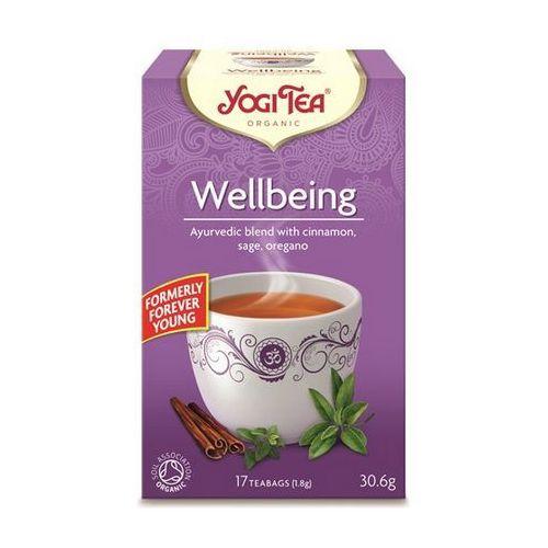 Herbata na dobre samopoczucie bio (yogi tea) 17 saszetek po 1,8g marki Yogi tea, usa