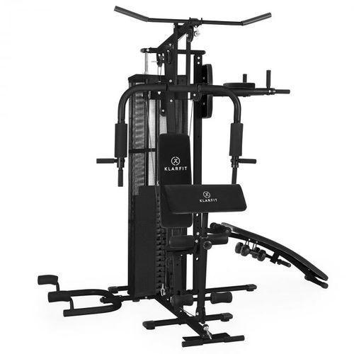ultimate gym 5000wielofunkcyjny atlasstanowisko treningowe czarny marki Klarfit