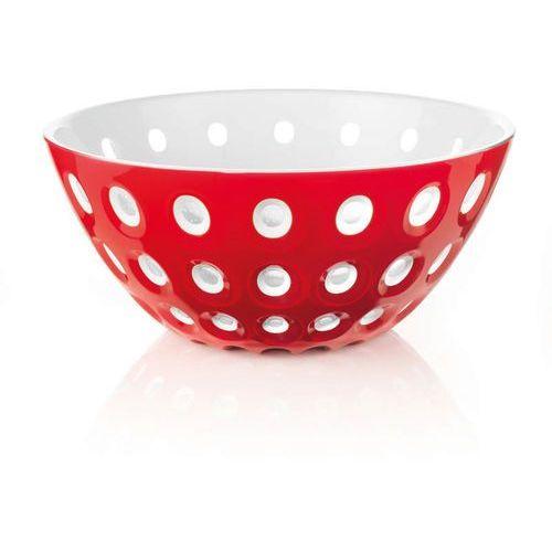 Guzzini -le murrine - misa 25 cm, czerwona - czerwony ||biały (8008392267904)