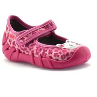 Kapcie dla dzieci Befado 109P156 Speedy - Różowy ||Fuksja, kolor różowy