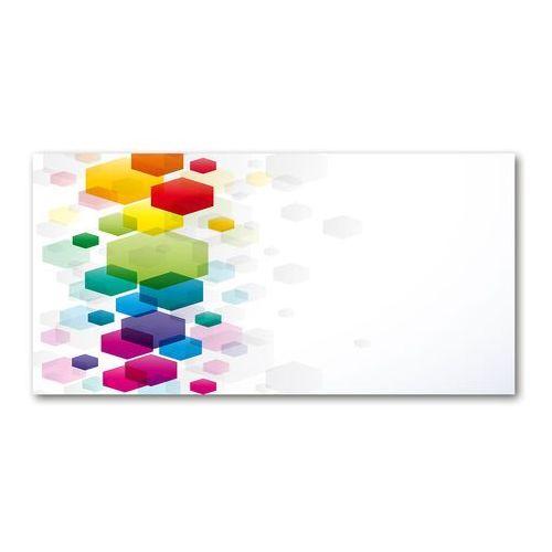 Obraz zdjęcie akryl Kolorowe sześciany