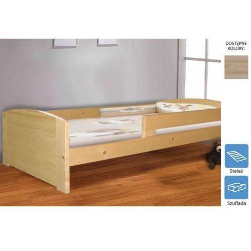 łóżko dziecięce klaudia z szufladą 80 x 180 marki Frankhauer