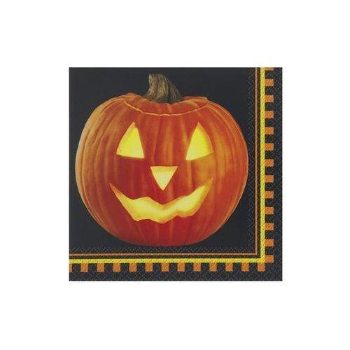 Serwetki Dynia na halloween - 25 cm - 16 szt.