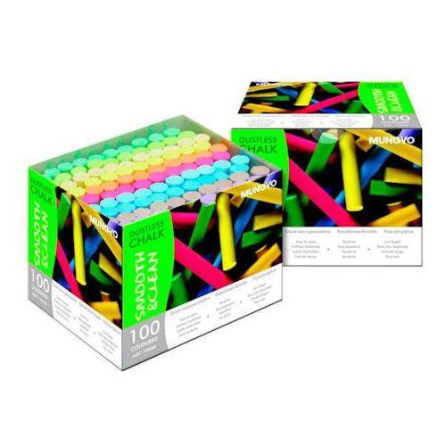 Kreda Mungyo niepyląca kolorowa x100
