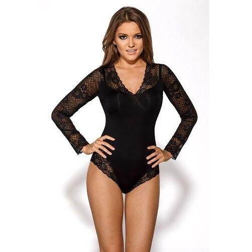 Body 007 czarny l czarny, Ava lingerie