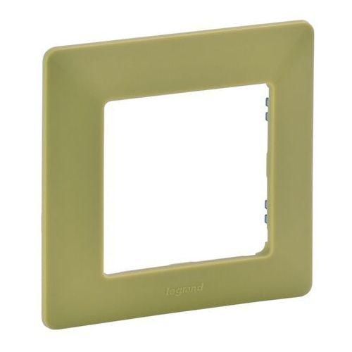 Legrand 754081 - ramka dla przełączników valena life 1p zielony (3414970455888)