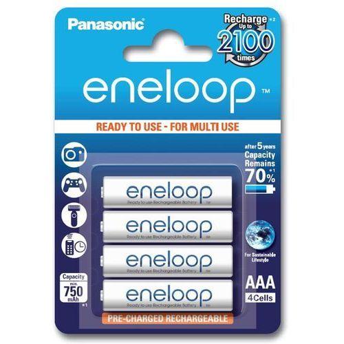 Akumulator eneloop aaa 750 mah (4 sztuki) marki Panasonic