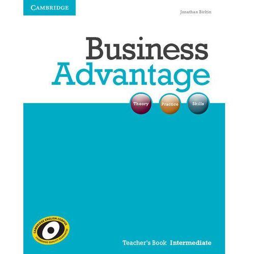 Business Advantage Intermediate Książka Nauczyciela, Cambridge University Press