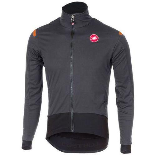 Castelli Alpha Ros Koszulka kolarska, długi rękaw Mężczyźni szary/czarny XL 2017 Koszulki kolarskie