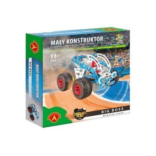 Mały konstruktor Monster Truck - Big Boss ALEX (5906018019193)