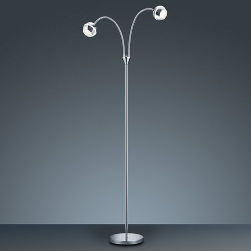 Trio 8282 lampa stojąca LED Chrom, 2-punktowe - Lokum dla młodych - Obszar wewnętrzny - BALOUBET - Czas dostawy: od 4-8 dni roboczych (4017807256390)