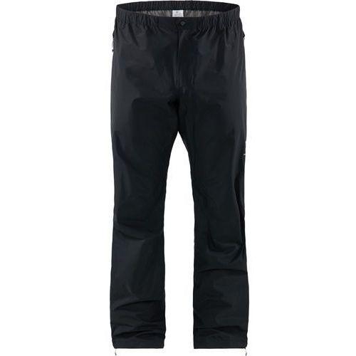 Haglöfs L.I.M Spodnie długie Mężczyźni czarny M 2019 Spodnie przeciwdeszczowe (7318841152356)