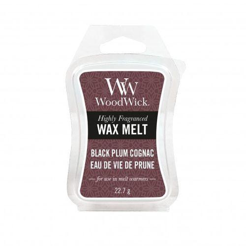 wosk black plum cognac 22,7g marki Woodwick