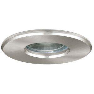 Oczko lampa sufitowa igoa 94976 oprawa podtynkowa spot metalowy wpust led 3,3w ip44 satyna marki Eglo