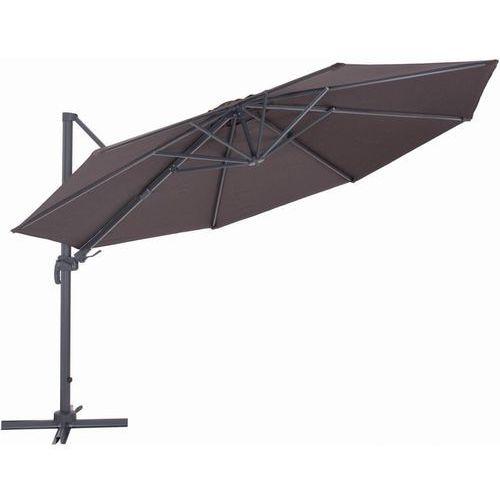 Makers parasol ogrodowy boczny verona 3,5 m, czerwony (8594173120600)