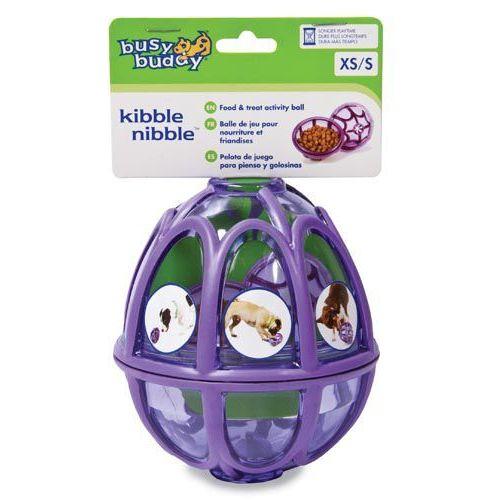 Edukacyjna zabawka dla psa, z której wypadają ciastka