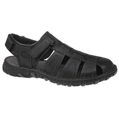 Sandały buty 36494 carlton czarne marki Josef seibel