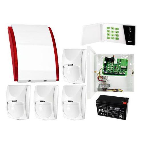 System alarmowy: Płyta główna CA-4 VP + Manipulator CA-4 VKLED + 4x Czujnik ruchu + Akcesoria, ZA7924