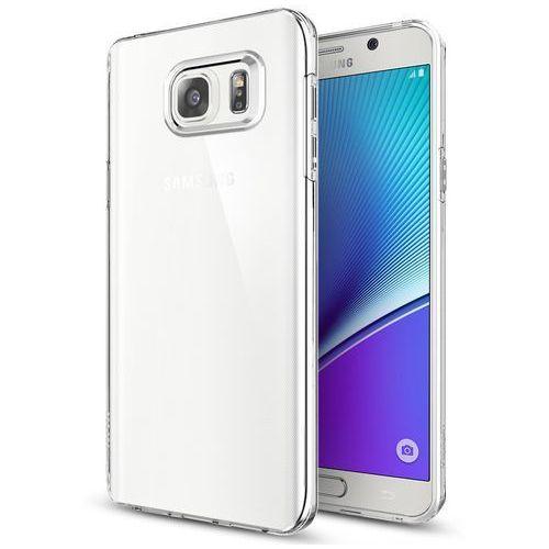 Nakładka SPIGEN Liquid Crystal do Galaxy Note 5 Przezroczysty (8809466640438)