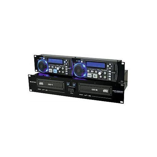 Omnitronic XMP-2800MT Dual CD/MP3 player - produkt z kategorii- Zestawy i sprzęt DJ