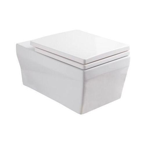 Miska wisząca WC, z deską wolnoopadającą Coline 16 Kerra ✖️DARMOWA DOSTAWA✖️
