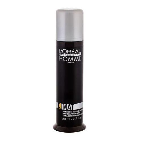 homme styling modelujący krem do włosów matujące (mat force 4) 80 ml marki L'oréal professionnel