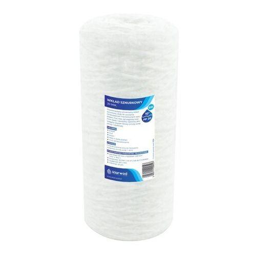 Klarwod Wkład sznurkowy do filtra bb10 pp 20 mikronów (5903111200527)