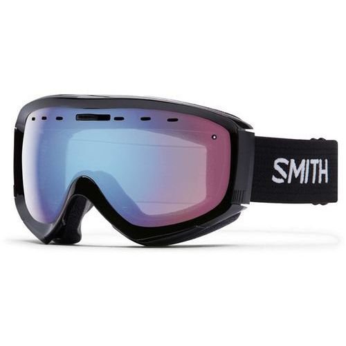 Smith Gogle snowboardowe - prophecy otg black blue sensor mirror (99zf) rozmiar: os