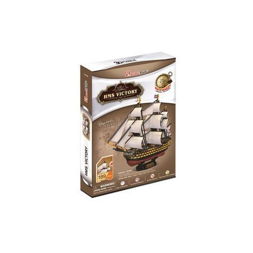 Puzzle 3d żaglowiec hms victory marki Cubicfun