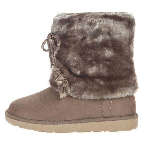 yuk fringes kids snow boots szary 28 marki Wrangler®