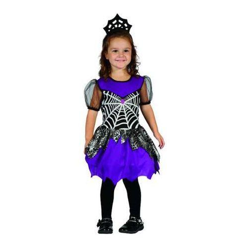 """_xx_strój dla dzieci """"pajęcza królewna"""" (sukienka, nakrycie głowy), rozm. 92/104 marki Godan"""