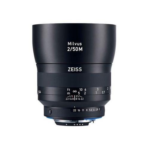 Carl Zeiss 50mm f/2M Milvus ZE (Canon) - 3 lata gwarancji - przyjmujemy używany sprzęt w rozliczeniu   RATY 20 x 0%