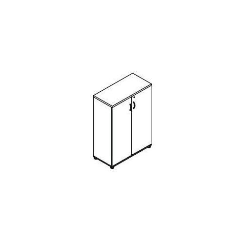 Szafa aktowa 2-drzwiowa h31 wymiary: 80,2x38,5x112,9 cm marki Svenbox