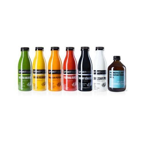 Sportfood Detoks dla mężczyzn / soki coldpress / dostawa w 24h / detoks sokowy / dieta sokowa